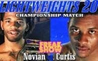 Lightweights 20: Novian vs. Curtis