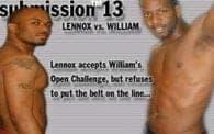 Submission 13: Lennox vs William