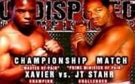 Undisputed 11: Xavier vs. JT Stahr