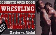 Straight Up Wrestling Challenge: Abdul vs. Xavier