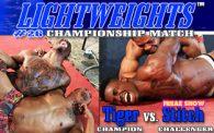 Lightweights 26: Tiger vs. Stitch